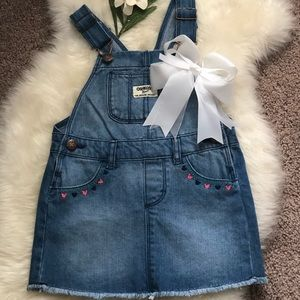 Toddler Skirt Overalls